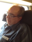 Philip endormi sur le TGV - Philip asleep on the TGV