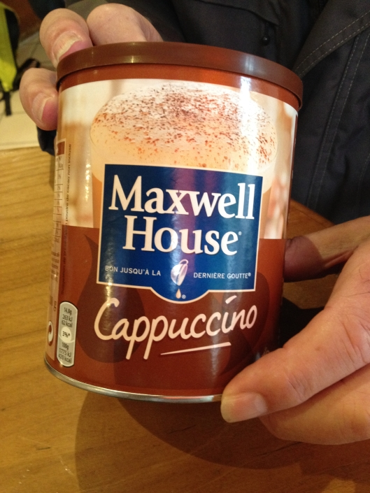Jean's Maxwell House Cappuccino