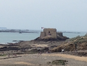 Fort National at low tide (click to enlarge)
