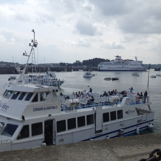 Brittany Ferry, Corsaire Ferry to Dinard and Corsaire Ferry to islands