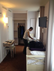 our room in Paris