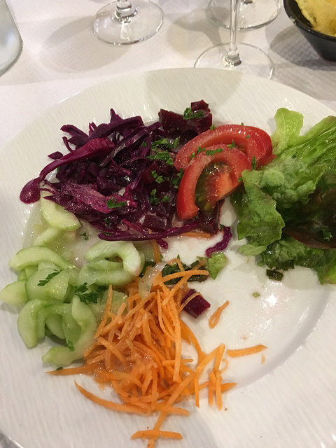 starter of crudities